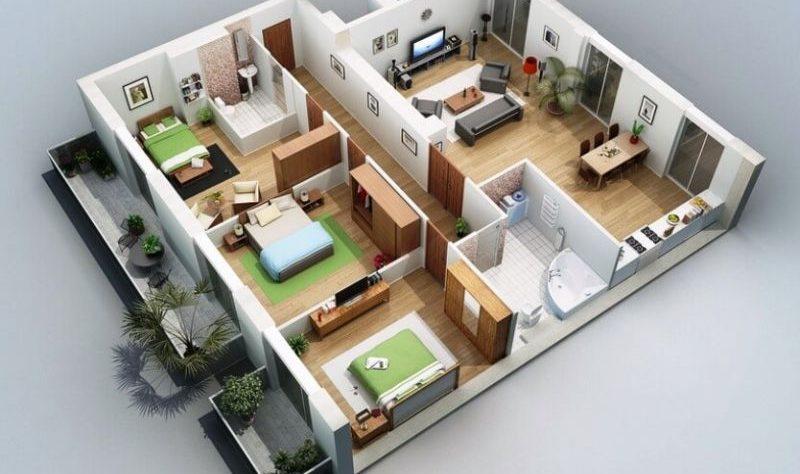 7 Inspirasi Desain Rumah Terbaru Ukuran Minimalis